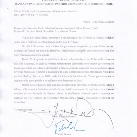 Oficio Bancada PSOL 0002 2018